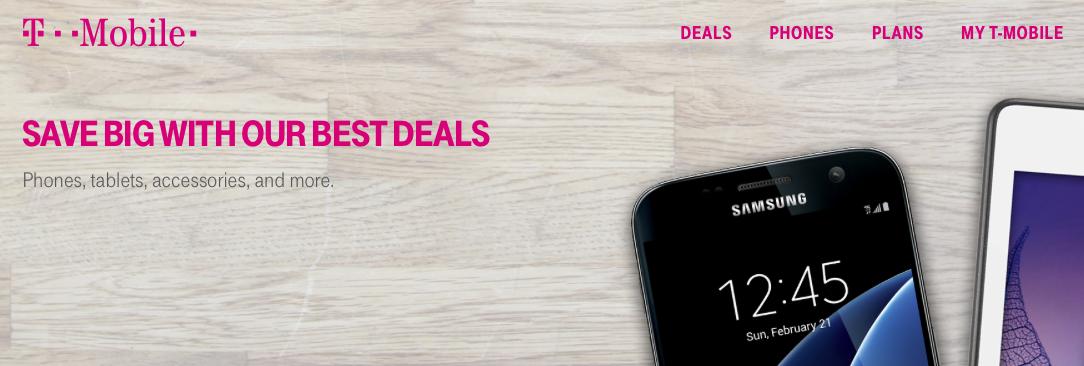 T mobile deals advert